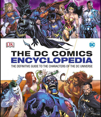 NEW DC Comics Encyclopedia Updated Edition By DK Hardcover Free Shipping