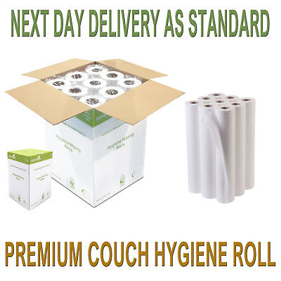 12 x Couch Rolls Premium Quality Hygiene Salon Beauty Massage Medical Table Roll