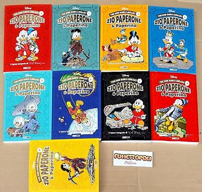THE DON ROSA LIBRARY scegli tra i 16 volumi usciti DISNEY Panini Comics NUOVI!