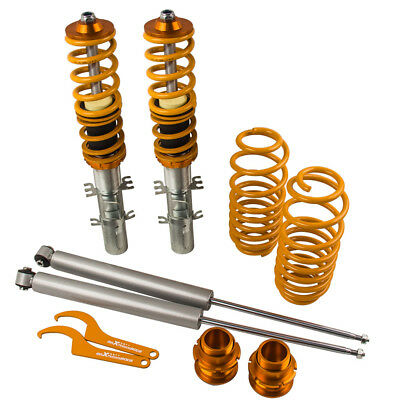 For Audi TT 8N Coupe 98-06 COMBINÉS FILETÉS SUSPENSIONs Kits Réglable Coilover