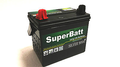 RIDE ON MOWER Lucas LP896 Lawn Mower Battery TYPE 896 MINI TRACTOR MOWER