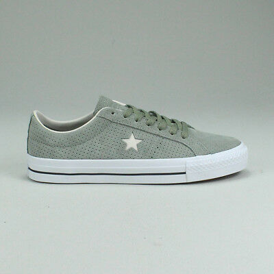 d6dce8676b7224 Converse One Star Pro OX Shoe Trainers New in Dark Stucco Size UK size 7