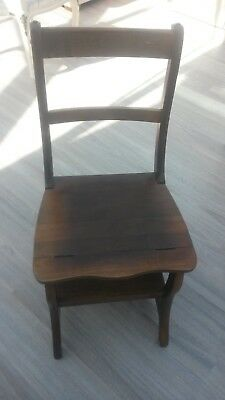Library Ladder Step Chair