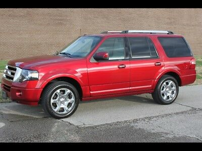 Expedition Limited Ruby Red Metallic Tinted Clear Coat Ford Expedition with 51,106 Miles available
