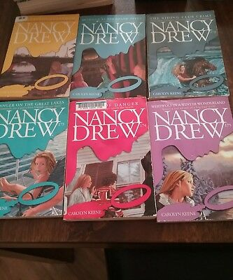 Complete set carolyn keene nancy drew books lot 13 170 175 rare complete set carolyn keene nancy drew books lot 13 170 175 rare fandeluxe Image collections