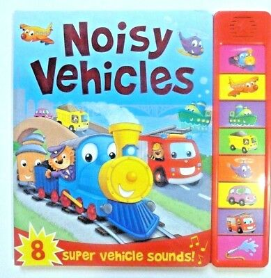 Noisy Vehicles by Bonnier Books Ltd ,Board book for Children