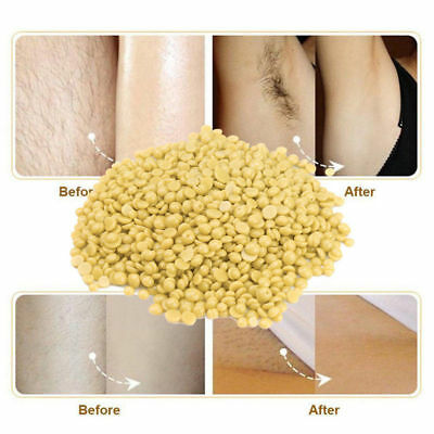 500g Body Hair Removal Hard Wax Beans Full Body Depilatory Wax Beads Painless