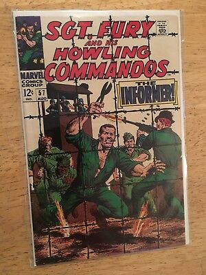 Sgt. Fury And His Howling Commandos Comic Book 57