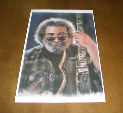 JERRY GARCIA GRATEFUL DEAD COLOR 11x17 PRINT