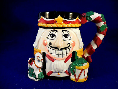 C.I.C. Tis the Season Nutcracker mug