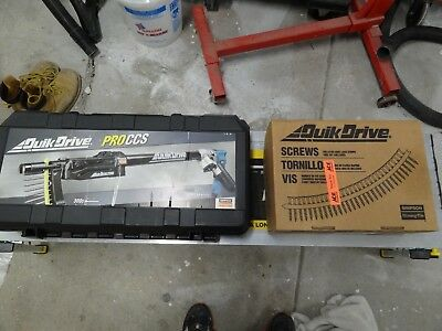 Simpson Strong Tie Quik Drive Pro CCS Makita 300S Drill Driver w Drywall Kit