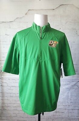 hot sale online af515 ff7bc NIKE DRI-FIT DE Soto eagles football windbreaker size Large Green 3/4  Sleeve NEW