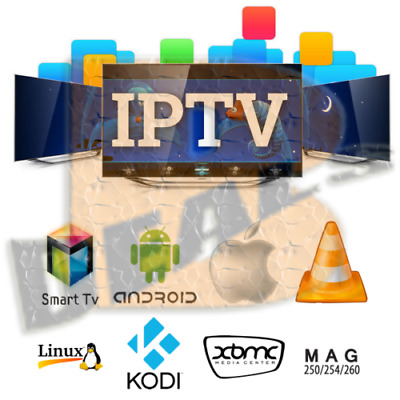 ✅ IPTV PRO SUBSCRIPTION 12 MONTHS Smart TV  iOS  Android  Kodi  MAG M3U