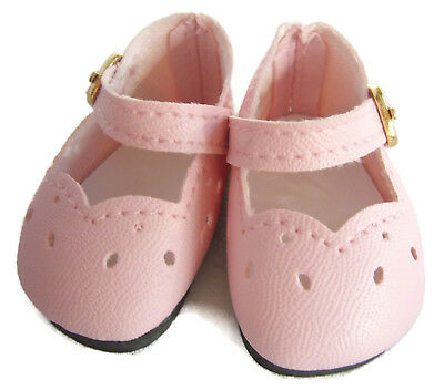 """Pink Shoes made for 14.5"""" American Girl Wellie Wishers Doll Clothes"""