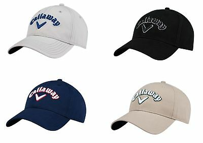 9a2591acbe9 Callaway Heritage Twill Hat Adjustable Golf Cap -New 2018 - Pick A Color!