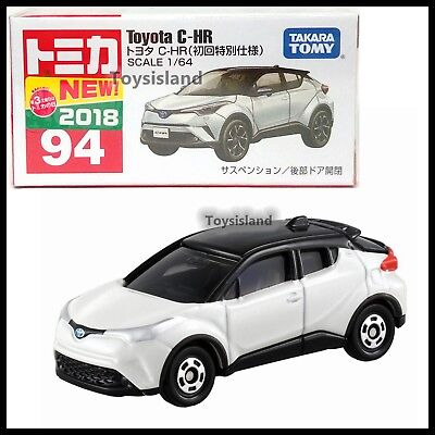 TOMICA #94 TOYOTA C-HR 1/64 TOMY 2018 APRIL NEW DIECAST CAR First edition