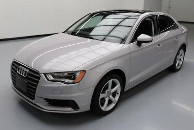 Audi A3 AWD 2.0T quattro Premium 4dr Sedan Texas Direct Auto 2015 AWD 2.0T quattro Premium 4dr Sedan Used Turbo 2L I4 16V