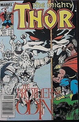 Mighty Thor # 349, N/m- Classic Simonson Run.