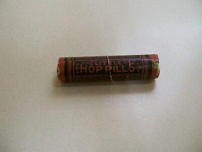 Little Hop Pills, Fair Condition, Unopened, Made in New London, Conn.