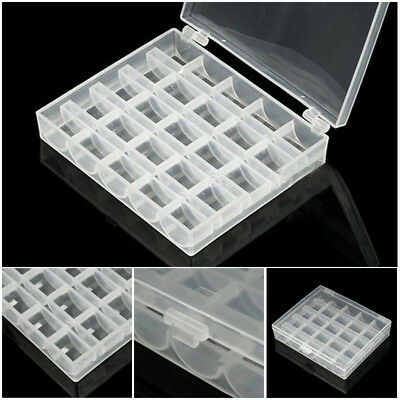 25 Organizer Box Solts Machine Clear Case With Grids Empty Container Storage