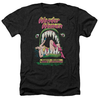 Wonder Woman Comic Cover JAWS OF THE LEVIATHAN Heather T-Shirt All Sizes
