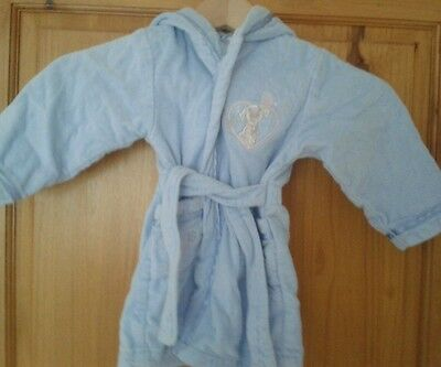 The Disney Store Girls Dressing Gown Robe Hundred 101 Dalmatians 12-18 months