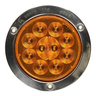 """Grote 53303 - Yellow SuperNova 4"""" 10-Diode Pattern LED Stop Tail Turn Lights"""