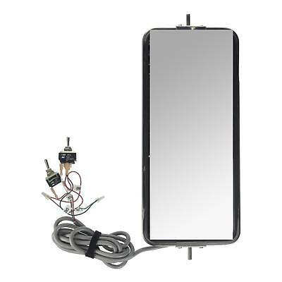 """Grote 28461 - 7"""" x 16"""" Remote-Control Heated West Coast Mirrors"""