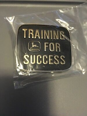 39 John Deere Training For Success 1992 Belt Buckle Limited Edition #41 Moline i