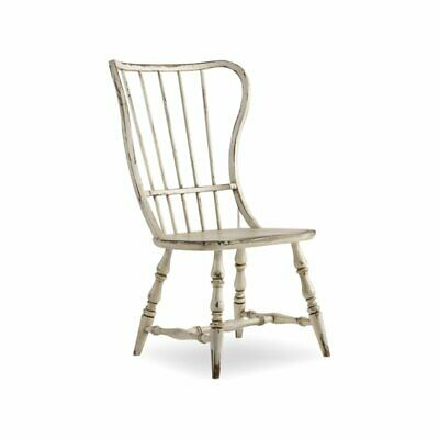 Beaumont Lane Spindle Back Dining Side Chair in White