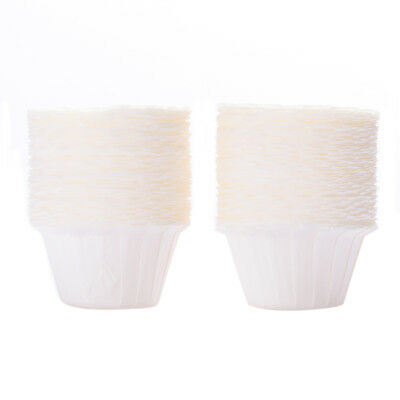 100Pcs Disposable Coffee Filters Paper Cups Replacement Home Portable Pack