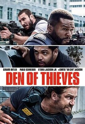 Den Of Thieves [New DVD]