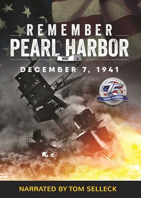 Remember Pearl Harbor Narrated by Tom Selleck [New DVD] Manufactured On Demand