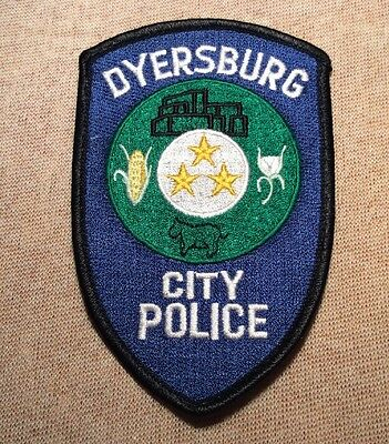 TN Dyersburg Tennessee Police Patch