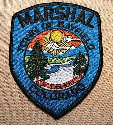 CO Town of Bayfield Colorado Marshal Patch