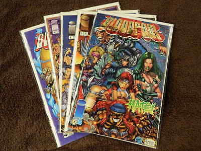 ~ NEAR MINT NM ~ 1993 Image Comics WildStar 1-4 Complete Set Run