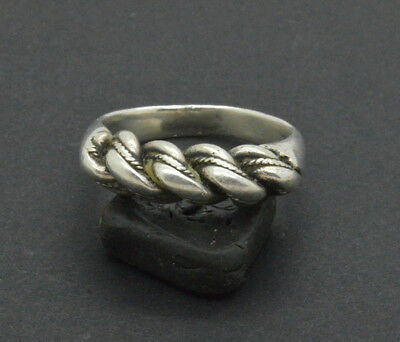 Post medieval period 925 Silver ring. 18 Century. 11gr