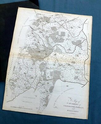 KENT, 1797 - Hundreds of CRANBROOK, BARKLEY, ROLVENDEN, Antique Map - HASTED