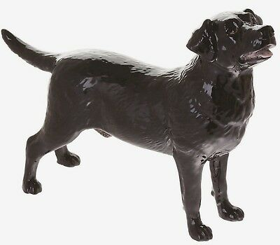 John Beswick Labrador Black Dog Figurine Ornament (JBD99) NEW