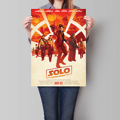 Solo A Star Wars Story Movie Poster Ron Howard 16.6 x 23.4 in (A2)