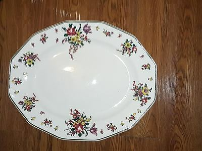 Very Large Art Deco Royal Doulton  OLD LEEDS SPRAY Oval Platter/Plate  D3548 #5