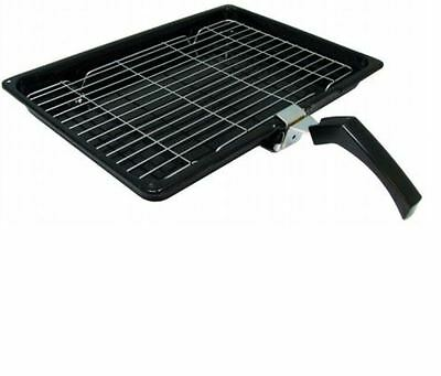 COOKERS CANNON Cooker Oven GRILL PAN TRAY & HANDLE 380mm X 280mm
