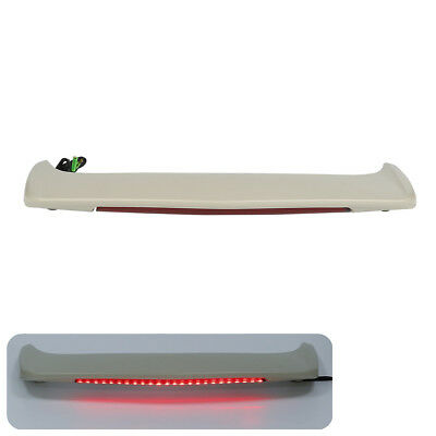 Unfinished Trunk Spoiler With LED Red Light For Honda Goldwing GL1800 01-17 06