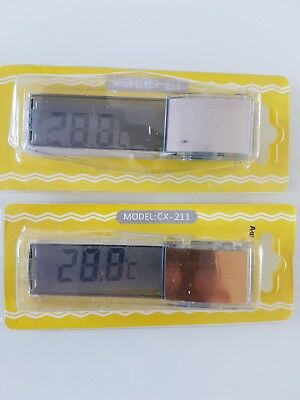 LCD 3D Digital Fish Tank Aquarium Thermometer UK SELLER 1ST CLASS POSTAGE