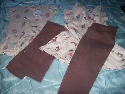 lovely wholesale joblot of two girls t-shirt and leggings from lilly and lola