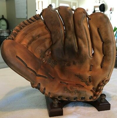Willie Mays Macgregor Usa Made Vintage Baseball Glove Rare Model Number