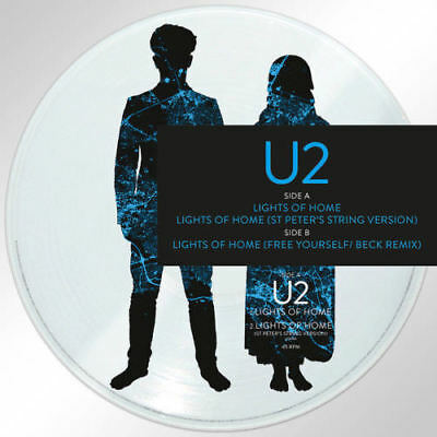 "U2 Lights Of Home Vinile Ep 12"" Picture Disc Record Store Day 2018 21 Aprile"