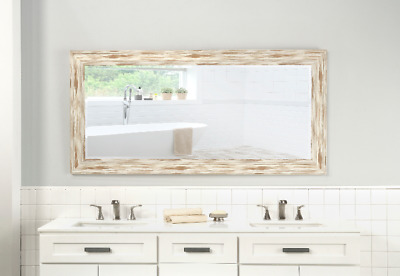 LARGE FULL LENGTH Mirror Floor Leaning Living Bedroom Dressing ...
