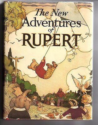Rupert Bear book. The New Adventures of Rupert 1985, edition no. 14703