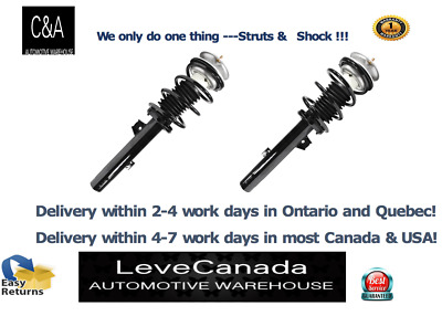 2007-13 BMW 328i 335i RWD(2 )Front Quick Complete Strut & Coil Spring Assembly